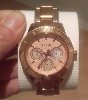 fossil es2859 damenuhr neu rosé gold armbanduhr