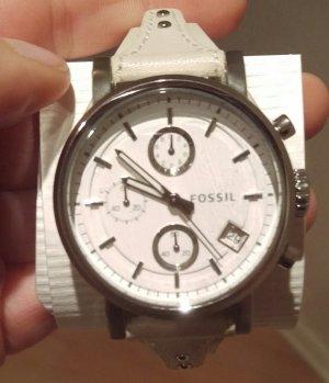 fossil es3811 boyfriend damenuhr leder neu armbanduhr