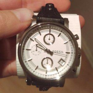 fossil es3817 damenuhr armbanduhr leder neu