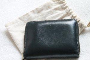 Fossil Geldbeutel in schwarz mit grünem Innenfutter