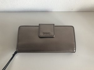 Fossil Wallet silver-colored