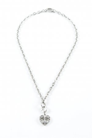Fossil Link Chain silver-colored elegant