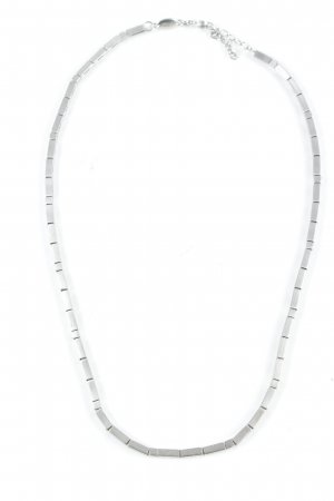 Fossil Link Chain silver-colored classic style