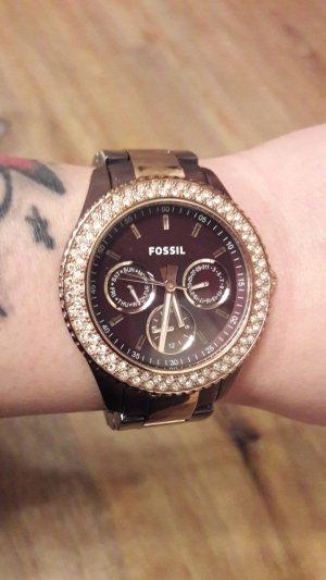 Fossil Glitzer Uhr