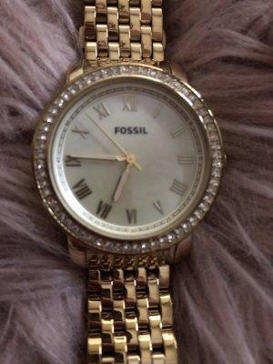 Fossil Goldene Uhr - Perlmutt