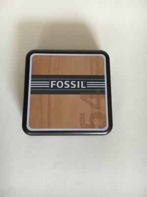 Fossil Chain silver-colored-gold-colored