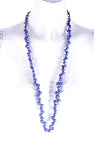 Fossil Halskette blau-braun Casual-Look