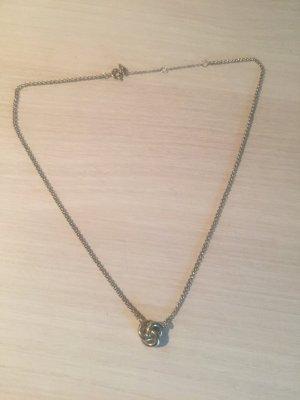Fossil Halskette Knoten Gold wie neu