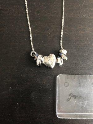 Fossil Halskette mit Anhängern