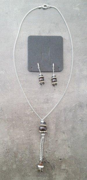 Fossil Halskette&Ohrringe