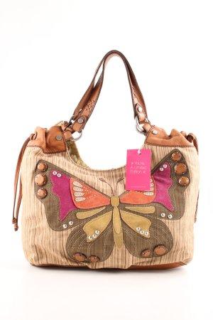 Fossil Handtasche Motivdruck Casual-Look