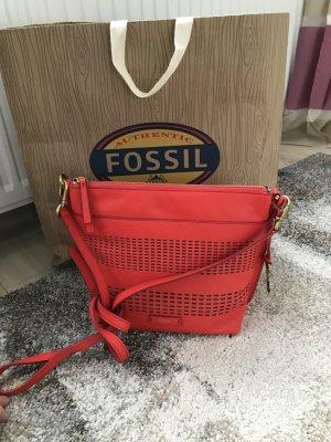 Fossil Handtasche Blogger Style Neu rot Sommer mk Style
