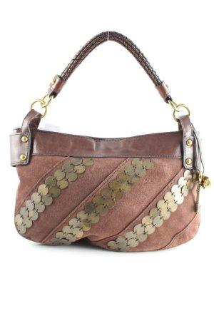 Fossil Handtasche dunkelbraun Street-Fashion-Look