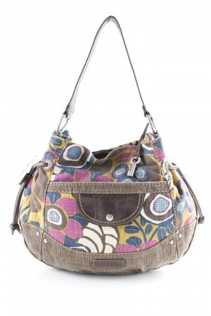 Fossil Handtasche florales Muster Casual-Look
