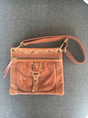 Fossil Handtasche mit Nieten