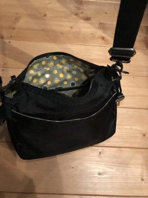 Fossil Shoulder Bag black nylon