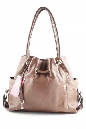 Fossil Carry Bag brown Top-stitching