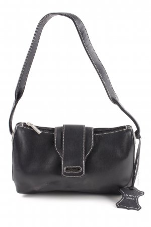 Fossil Henkeltasche schwarz Business-Look