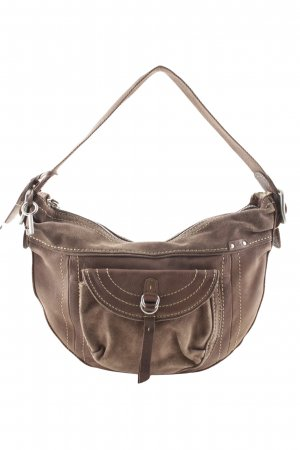 Fossil Carry Bag dark brown street-fashion look