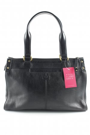 Fossil Bolso barrel negro look casual