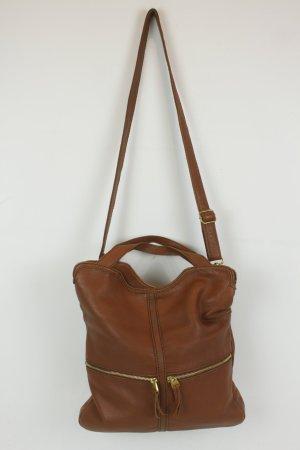 Fossil Hobo Ledertasche Handtasche braun