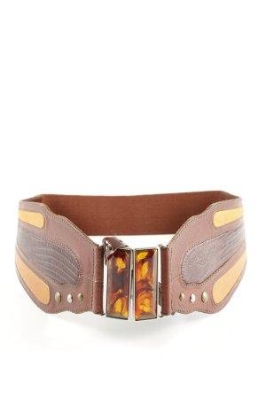 Fossil Cinturón de cadera marrón elegante