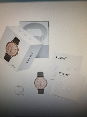 Fossil Watch grey brown