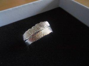 Fossil Anello d'argento argento