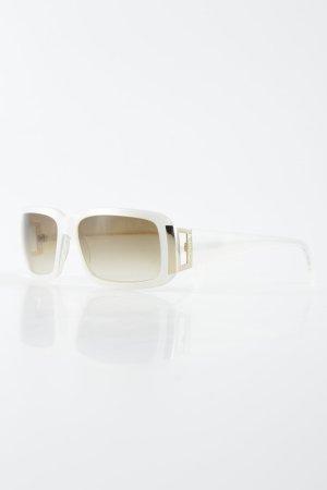 "Fossil Square Glasses ""Cat No.3"" natural white"