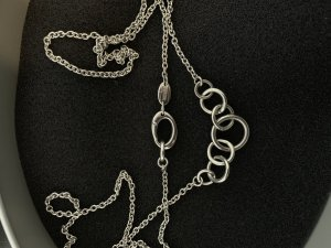 Fossil Necklace silver-colored