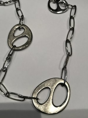 Fossil Chain silver-colored stainless steel
