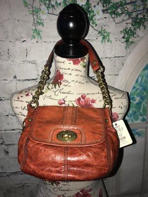 Fossil Leder Handtasche  mit Etikett