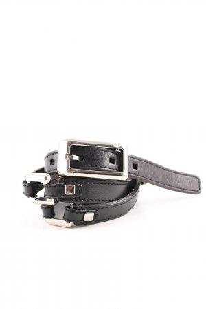 Fossil Leather Belt black business style