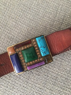 Fossil Leather Belt multicolored
