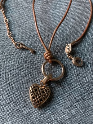 Fossil Collier or rose-brun