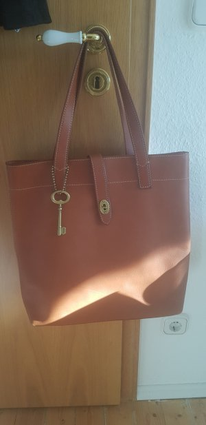 Fossil Handbag brown-cognac-coloured