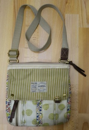 Fossil Long Live Vintage cross-body Bag Tasche Shabby Chic Boho Mori Kei Look *rar*