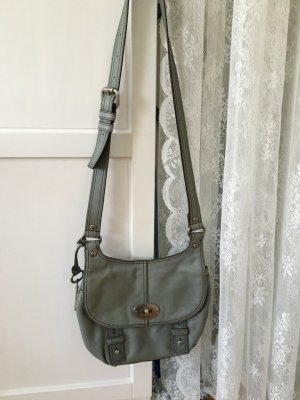 Fossil Maddox Flap Crossbody Hand- / Schultertasche Dusty blue