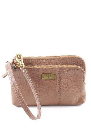 Fossil Mini Bag cognac-coloured elegant