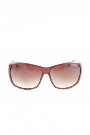 Fossil Oval Sunglasses red casual look