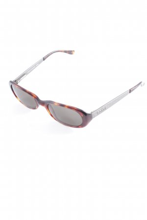 Fossil ovale Sonnenbrille Farbverlauf Casual-Look