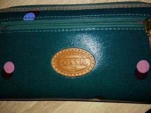 Fossil Wallet petrol-forest green
