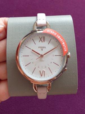 Fossil Q FTW5023 Hybrid Smartwatch neu leder Rosè Gold Rosa