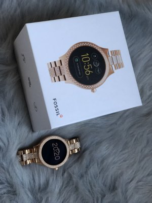Fossil Watch pink-rose-gold-coloured