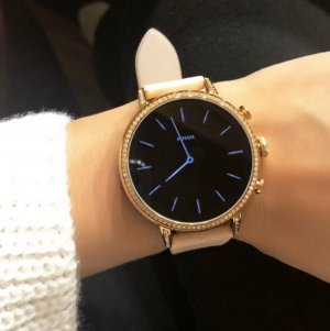 Fossil Q Venture Smartwatch Roségold *wie neu*