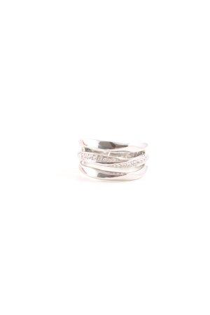 Fossil Ring silberfarben Elegant