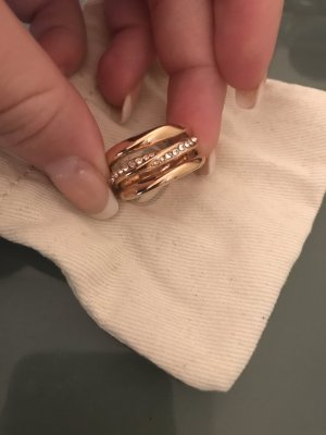 Fossil Ring in Roségold