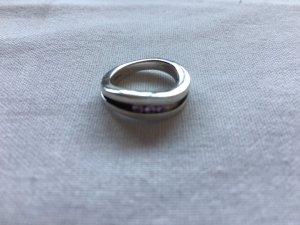 Fossil Ring rosa Steinchen Gr. 15-16