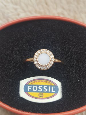 Fossil Ring - sehr guter Zustand