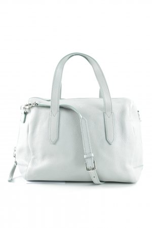 Fossil Satchel pale blue casual look